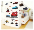 Free shipping ,vinyl cartoon stickers, pixar car, 3th generation Wall Stickers, 50*70cm, thick and high quality room decor