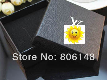 Free shipping!New jewellery,carrying cases/ gift boxes/jewelry packing&display/earring/ring/necklace cases 7.5*7.5*3.5 JB-J018(China (Mainland))