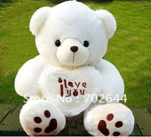 New Children's  Christmas/birthday gift size 50cm  teddy bear plush toys ,1pcs,freeshipping