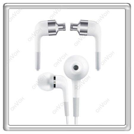 K5M In Ear Earphone Headphone Handsfree Headset With Mic For iPhone 4 4S 3GS 3G(China (Mainland))