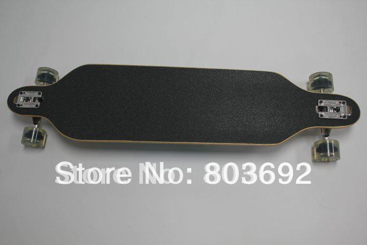 """Grátis Sector do transporte 42 """"9 Drop Através Longboard Criança Skate Long Board(China (Mainland))"""