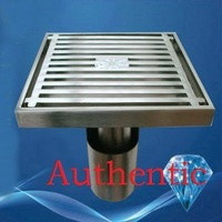 Authentic six proof floor drain, the shower floor drain floor drain with matt surface + FREE SHIPPING