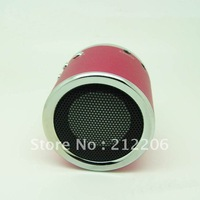20pcs DHL Free shipping  Wholesale Kaidaer MN02 Speaker Mini Portable Speaker support TF Card / U Disc / FM Function