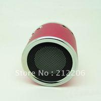 20pcs DHL Free shipping  Wholesale Kaidaer MN02 Speaker Mini Portable Speaker support TF Card / U Disc / FM Function