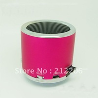 50pcs DHL Free shipping  Wholesale Kaidaer MN02 Speaker Mini Portable Speaker support TF Card / U Disc / FM Function