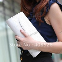 2 Colors Women Girl clutch Evening Bag Purse Wedding Bridal Party Handbag Bags free shipping 7412