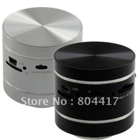 Free Shipping!  New 360 degrees Vibration Resonance Micro SD TF Card Slot Music Speaker For MP3 PC iPhone 4 4S, Wholesale