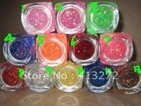 Nail art phototherapy color rubber flash powder enamel adhesive sequins color rubber gel color gel