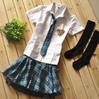 Fashion school uniform summer 2012 sailor suit school wear student uniform
