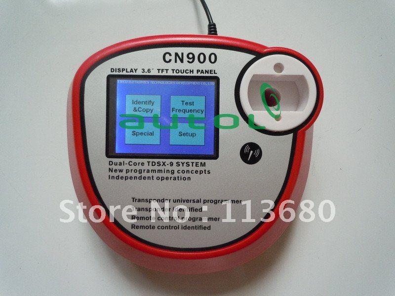 2012 Newest CN900 Automotive Transponder Chip Key Copy Machine CN900 Auto Key Programmer(China (Mainland))