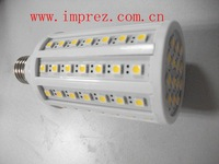 free shipping dimmable led corn light 5050 84led,12W,E27/E14/B22,1050-1100lm,2years warranty,CE&RoHS