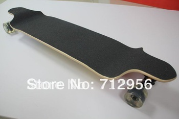 "Free Shipping 41""four-wheel Professional complete drop through longboard sector 9 maple Drop deck  skate longboard"