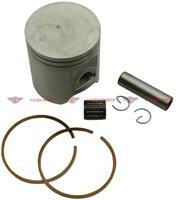 Hoca 54mm Piston Kit for 90cc 2-stroke 50QMF, E50QMF, 1E50QMF and 1PE50QMF Minarelli engines+free shipping