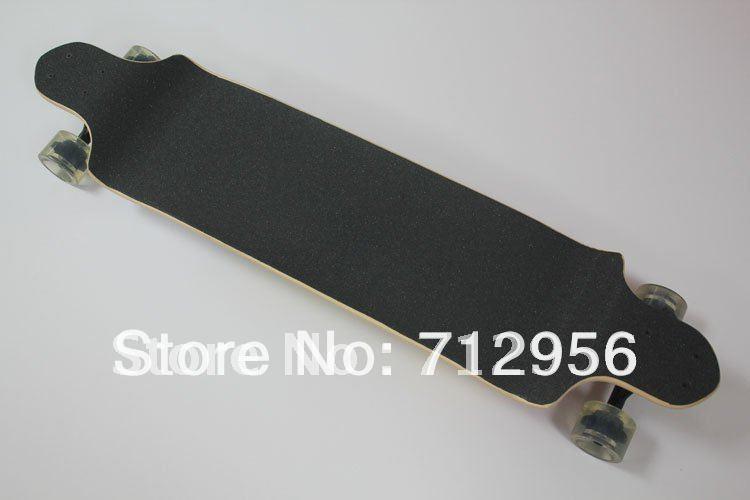 """O envio gratuito de 41 """" double warped quatro rodas setor longboard completo Professional 9 bordo convés gota de skate longboard(China (Mainland))"""