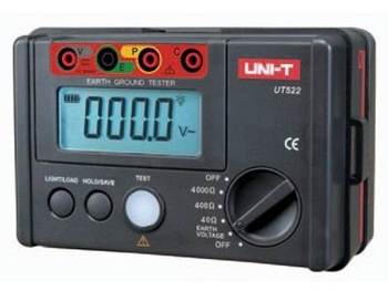 Free shipping ! UT522 Earth Ground Resistance Tester