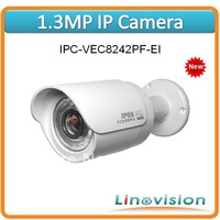 Wholesale professional 1.3M CMOS Full-HD Megapixel IP Camera with PoE and IR LED, IPC-VEC8242PF-EI