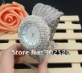 Bling Bling Watch Promotional Price Women Watches New Arrival Latest Design Free Shipping W0170-White