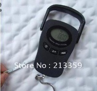 New, Hot! Free Shipping for 50kg 20g DIGITAL HANGING LUGGAGE FISHING Clock SCALE , UPS SF express use it to work