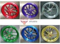 taiwan RRGS  CNC 10 inch rim front wheel 10 spokes