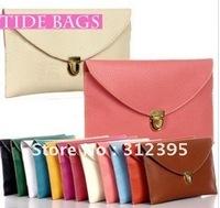 Women/Girl's Lady Envelope Clutch Chain Purse Shoulder Hand Tote Bag 12 color