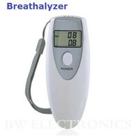 10pcs/lot, LCD Digital Alcohol Tester, Breathalyzer, Freeshipping