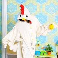 Sleepwear female cartoon chick animal one piece sleepwear lounge female 100% cotton long-sleeve lovers sleepwear