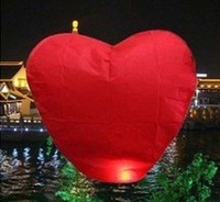 5pcs Best selling! Heart Sky Lanterns,Wishing Lamp,Chinese Lantern. Free shipping! Retail&Wholesale
