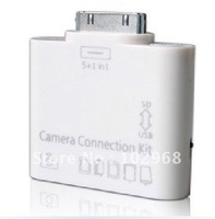 5-in-1 Camera Connection Kit Card Reader SD MicroSD ,5pcs/lot