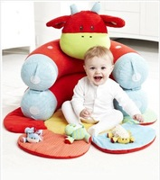 In stock Red Cow  Free Shipping ELC Blossom Farm Sit Me Up Cosy-Baby Seat Play MatPlay Nest Sofa Baby game pad  rita yib's