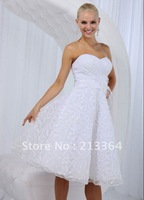 Free Shipping Organza Sweet temperament Top grade Wedding Dresses any color size wholesale/retail