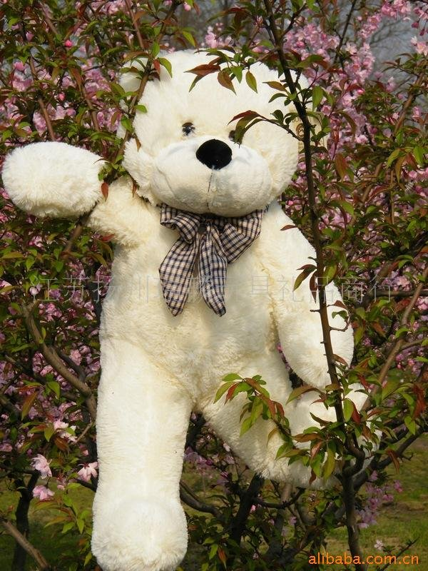 stuffed toy Free shipping 80cm big size plush toy teddy bear wholesale price(China (Mainland))