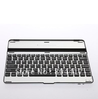 Free Shipping New Mobile Aluminum Case with Bluetooth Keyboard For Apple iPad 2, Wholesale