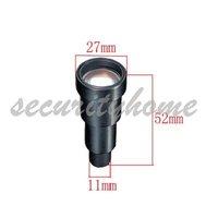 Mini 50mm CCTV Camera board Lens for Security dome, bullet camera