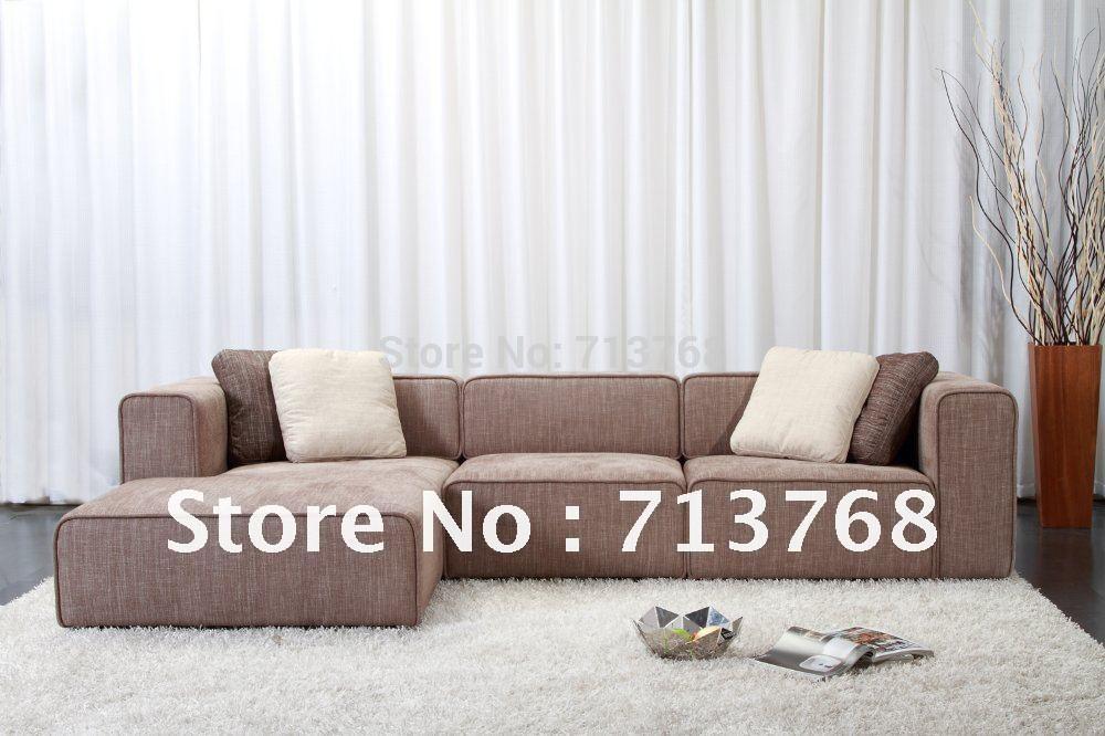 Modern Furniture Living Room Fabric Sofa Sectional Sofa Corner Sofa MCNO9046