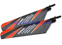 RC helicopter WL toys v911 spare parts V911-02 Main rotor blade (Black) (a lot=2 piece)