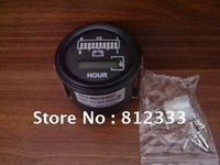 24V GAUGE HOUR METER FOR CURTIS 803 TYPE USED IN EIECTRIC FORKLIFT STACKER PALLET GOLF SIGHTSEEING CAR  WASHING MACHINE