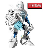 Whole sale price 100%new kit's robots, super fighter robots block, children's gift robot block free shipping