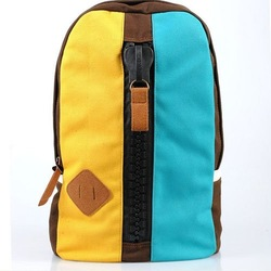 popular korea japen unique style teens shoulder bags campus students leisure canvas simple design muti-function backpacks(China (Mainland))