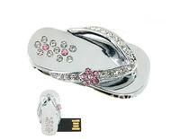 Shoe Slipper Shaped 4GB/8GB/16GB/32GB  USB Flash Drive Memory Stick Jewelry Thumb Pen