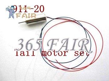 5 pcs/lot v911-20 tail motor set for WL v911 rc mini RTF helicopter spare part