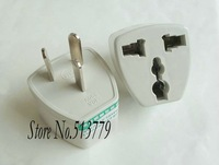 Free shipping 135 pcs/lot Universal Australia AU To US EU UK plug ac power adapter converter