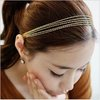 Gold Fringes Multi Layers Metal HAIR BAND HAIR ACCESSORIES Min.order is $15 (mix order)