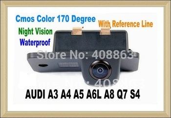Special Car Rear View Reverse Camera For AUDI A3 A4 A4L A5 A6L A8 Q7 RS4 S4