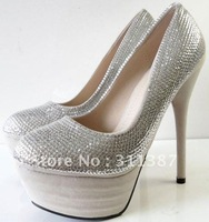 $15 off per $150 order Free/drop shipping,sexy high heels,glitter,platform pumps,party,wedding shoes woman 2012 new, SLWH055