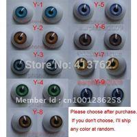 18 Pair 16mm HALF ROUND ACRYLIC REBORN DOLL EYES for Reborn/BJD/OOAK Doll eyes