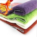 Bamboo fiber towels washing towels universal nanometer towel superfine fiber towel ( 2 pcs )(China (Mainland))
