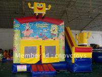 Inflatable Spongbob Bouncer Slide