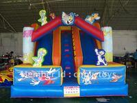 Inflatable tom&jerry slide