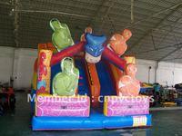 Inflatable Spideman slide