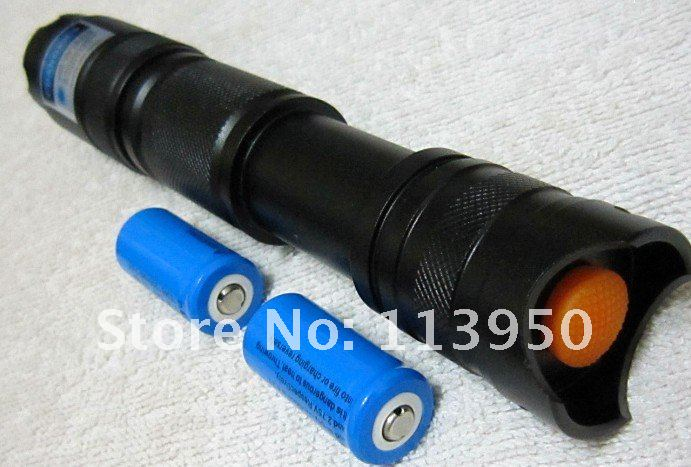 Military High-Power Blue Beam Laser Pointer Tactical Professional 5000mW with safty goggles(China (Mainland))
